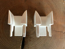 1 Paar=1xlinks und 1x rechts Rollladen-Einlauftrichter MENKE 32x37 mm