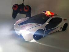 Police Siren Lights Radio Remote Control Car Rc HIGH SPEED 10mph - NEW