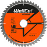WellCut TCT Saw Blade 165mm x 48T x 20mm Bore For DWS520, DCS520, SP6000, GKT55