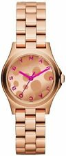 Marc by Marc Jacobs Mini Henry Dot Pink Rose Gold Ladies Watch MBM3271