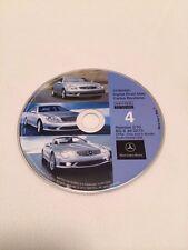 02 03 MERCEDES CL65 SL500 S600 NAVIGATION CD DVD 4 South Central 2010 UPDATE © E