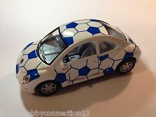 Diecast 1:32 Scale Soccer Fussball Football World Cup VW Volkswagen New Beetle