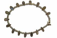 LABRADORIT Edelstein Armband / LABRADORITE Bracelet D220