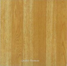 44 x Vinyl Floor Tiles - Self Adhesive - Bathroom / Kitchen,,,,, BNIB Plain Wood