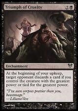 Triumph of Cruelty X4 EX/NM Avacyn Restored MTG Magic Cards Black Uncommon