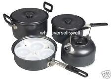 Antiaderente Campeggio Pentole Pan Set Cottura Set per frittura Gastro