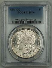 1891-CC Morgan Silver Dollar Coin $1 PCGS MS-62+ (VAM Spitting Eagle)