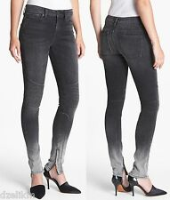 NWT $245 Vince Moto Dylan Skinny Seamed Jeans Size 27