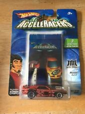 2004 HOT WHEELS ACCELERACERS METAL MANIACS Rivited 4 of 9 Cm5