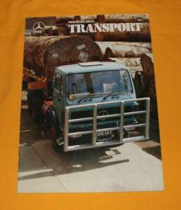 Mercedes Transport Magazin 155 1988 Heft Zeitschrift Prospekt Brochure