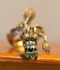 Beautiful Dragon Ring Movable Head