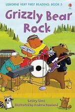 NEW USBORNE Very First Reading (5) GRIZZLY BEAR ROCK paperback