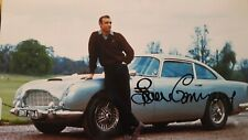 Autograph Sean Connery James Bond COA authentic aston Martin db5  autographe