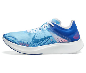 NIKE ZOOM FLY SP FAST Running Trainers Gym Casual - UK Size 7.5 (EUR 42) Blue