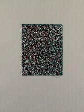 Mark Tobey-CICALINO Joy 1972 farbradierung-firmato a mano-edizione 96