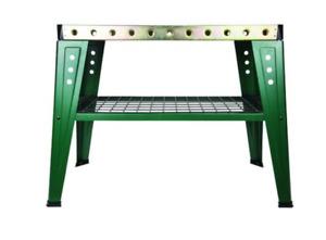 1000LB 36x16 Steel Welding Table Clamp Peg Holes Zinc Plated Weld Area Storage