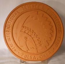 FRANKOMA pottery TRIVET #3 41st International Science & Engineering Fair 1990