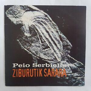PEIO SERBIELLE : ZIBURUTIK SARARA ♦ CD PROMO ♦  la corse en force !