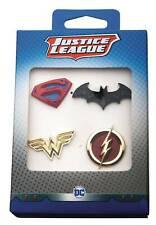 DC Comics Justice League Boxed Pin Set