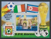 Korea - 1982, World Cup Football sheet - F/U - SG MSN2227