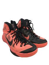 Nike Men's Orange Hyperdunk Lace Up Zoom Basketball Shoes 653640 Sz 7.5