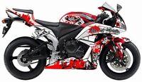 2009-2012 Honda CBR600RR CBR 600 RR CBR600 600RR RED GRAPHICS KIT