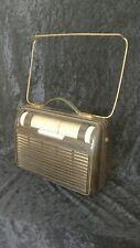Antique Portable bakelite radio Philips L4X60BT, '56