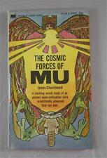 COSMIC FORCES OF MU JAMES CHURCHWARD 1968 PAPERBACK LIBRARY #54-678 1ST ED PB
