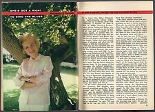 1962 TV ARTICLE~HELEN O'CONNELL~LARRY FUNK BIG BAND SINGER~ACTRESS~MUSIC
