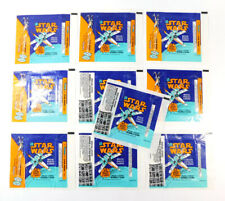 Lot of (10) 1978 Topps Star Wars Empty Wax Wrappers