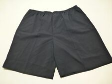 Blair Womens Size 3XL Black Elastic Waist Polyester Casual Shorts New