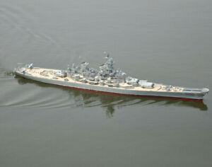 1-PL-MISSOURI Premium Line Missouri 1:200 Scale Pre-Built Model Battleship ARTR