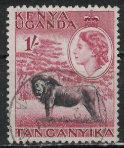 KENYA,UGANDA,TANZANIA:1954-59 SC#112 Used Lion T197