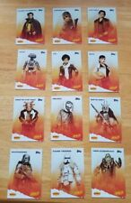 SOLO: A STAR WARS STORY - Complete 12-Card Set 2018 Denny's Topps