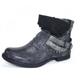 Kayla Damen Boots Stiefel Schnürschuhe Schuhe Stiefelette