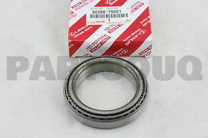 9036675001 Genuine Toyota BEARING (FOR FRONT DIFFERENTIAL CASE) 90366-75001