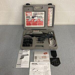 Porter Cable Profile Sander Kit 444, Detail Molding Set