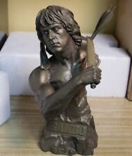 "1/3"" Scale 11"" Rambo Sylvester Stallone Bust Figure Statue - Limited Only 100"