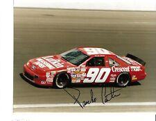 Autographed Pancho Carter NASCAR Auto Racing Photograph
