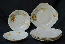 EPIAG D.F CZECHOSLOVAKIA 2 SAUCERS AND 4 TEA PLATES