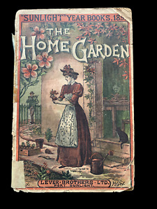 THE HOME GARDEN 1895 Sunlight Year Book Paperback SCARCE GARDENING