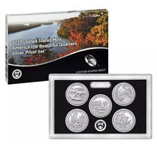 2017-S Silver ATB Proof Set 5 Coin Box And COA  OMP 02202017