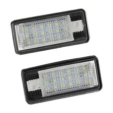 2x 18 LED License Number Plate Light Lamp For Audi A3 S3 A4 S4 B6 A6 S6 A8 D5M0