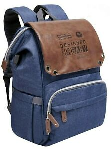 Diaper Bag Backpack, Large Multifunction Travel Baby Bag w/Changing Pad & Straps