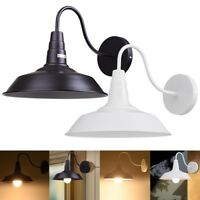 """10"""" inch Vintage Idustrial Retro Style Barn Wall Lamp Sconce Indoor Light Opt."""