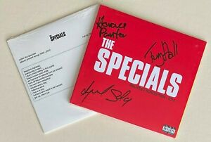 THE SPECIALS * PROTEST SONGS 1924-2012 * LIMITED SIGNED EDITION + FIRST PRESS CD