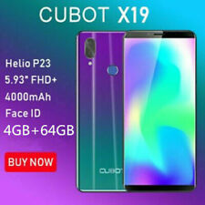 Cubot X19 Android 8.1 4G LTE CELLULARE 8Core 16MP 4000mAh 4GB 64GB Smartphone IT