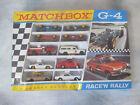 Vintage 1967 Lesney Matchbox G-4 Race'n Rally Box w/ 6 Cars Sealed England