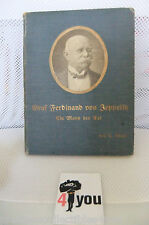 1908 GRAF ZEPPELIN BOOK LZ 127 ECKENER AIRSHIP GERMAN BIOGRAPHY CIVIL WAR