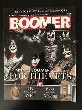 "KISS ""THE TOUR"" BOOMER MAGAZINE (KISS COVER STORY 2012)"